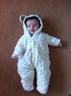 Teddy Pram Suit