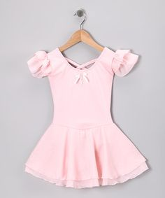 Take a look at this Pink Sophia Skirted Leotard - Toddler & Girls by Eurotard on #zulily today!