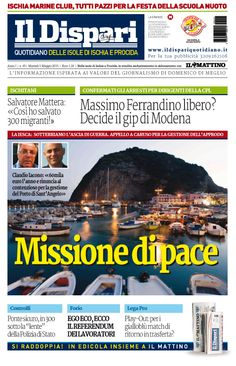 La copertina del 05 maggio 2015 #IlDispari #Ischia