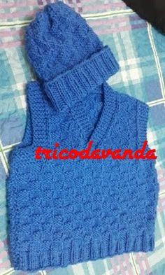Knit Vest, Baby, Crochet, Pullover, Knitting, Sweaters, Fashion, Sleeveless Sweaters, Tunisian Crochet Stitches