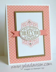 Stepped Up Cantaloupe Chalk Talk by juls716 - Cards and Paper Crafts at Splitcoaststampers