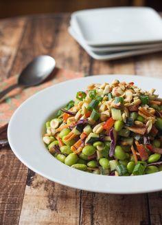 Thai Edamame Salad