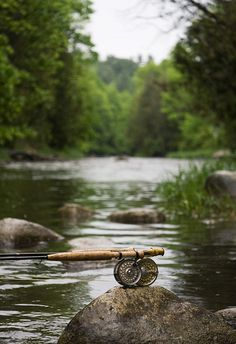 Fly fishing: Hands down, my absolute most favorite place to be. Forget the spa, give me a river and a rod!