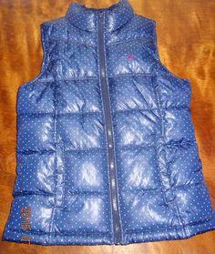 "Girl Junior Vest Fall Polka dots Sleeveless size XL Chest 16.5""  Old Navy #OldNavy #Vest #Everyday"