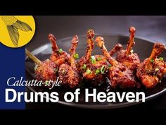 Chicken Lollipop—Drums of Heaven—includes cutting steps—Calcutta Indo-Chinese Chicken Recipes video recipe – The Most Practical and Easy Recipes Chicken Drums, Chicken Wings, Chicken Lollipops Recipe Indian, Recipes From Heaven, Green Chilli Sauce, Lollipop Recipe, Chinese Chicken, Chinese Food, Chicken