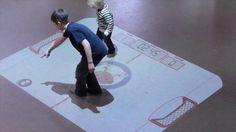 Kinect Interactive Floors...make it wall?