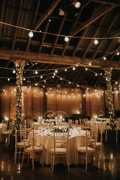 Winter Barn Weddings, Country Barn Weddings, Sage Wedding, Dream Wedding, Luxury Wedding, Wedding White, Summer Wedding, Prom Venues, Wedding Reception Lighting
