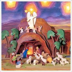 Incredible Ostheimer Nativity