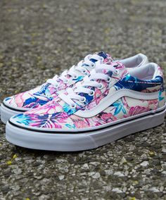 Vans Old Skool Tropical Prints