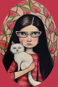 """""""Cat Eyes"""" par Kelly Vivanco"""