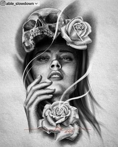 P Tattoo, Inca Tattoo, Tattoo Drawings, Girl Face Tattoo, Girl Face Drawing, Tatoo Manga, Persian Tattoo, American Indian Tattoos, Full Sleeve Tattoo Design