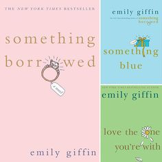 This Series by Emily Giffin is amazing and really shows the true meaning of friendship but how you must something's think of yourself before others.