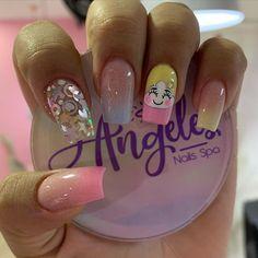 Magic Nails, Acrylic Nail Art, Nail Spa, Easy Nail Art, Nail Arts, Short Nails, Swag Nails, Cute Nails, Manicure