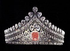 Diadem of Empress Elizabeth Alexeievna of Russia (XIX century)
