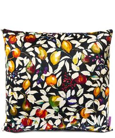 Liberty Art Fabrics Fruit Billett in Forest Fruits Vintage Velvet Cushion | Accessories | Liberty.co.uk