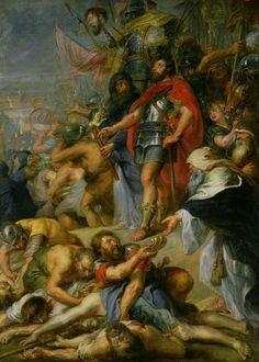 The Triumph Of Judas Maccabeus painting by Peter Paul Rubens 1635 http://ift.tt/2yOWZZ4