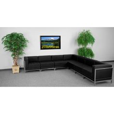 Flash Furniture ZB-IMAG-SECT-SET1-GG HERCULES Imagination Series Sectional Configuration