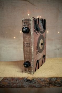 Pinhole Camera Made From A Book