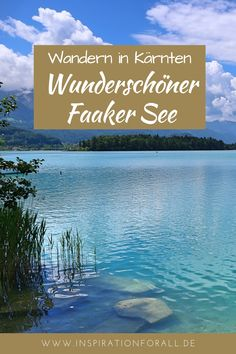 I give you tips for your holiday in Austria. For example, you can go hiking around Lake Faak in Carinthia. A beautiful landscape awaits you here. Travel Around The World, Around The Worlds, Carinthia, Reisen In Europa, Go Hiking, Maldives, Where To Go, Beautiful Landscapes, Austria