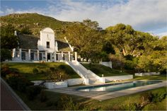 Real Estate in Cape Town, South Africa - The New York Times Cape Town Tourism, Cape Dutch, African House, Dutch House, Dutch Colonial, Cape Town South Africa, International Real Estate, Countryside, Holland