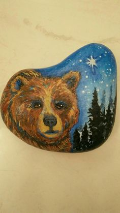 Rock art Painted Rock Animals, Painted Rocks Kids, Stone Crafts, Rock Crafts, Rock And Pebbles, Stone Painting, Painting Art, Rock Painting Designs, Pet Rocks