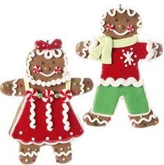 Raz Imports Gingerbread Ornaments - set of 2 - SP Marketplace