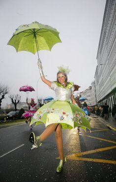 Desfile carnaval 2014 en A Coruña-Galicia(Spain)