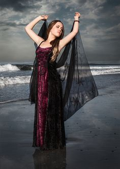 143C - Strappy Dress - Gothic, romantic, steampunk clothing from The Dark Angel