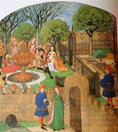 Medieval Gardens | Medieval Illumination
