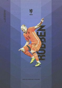 Arjen Robben of Holland wallpaper.