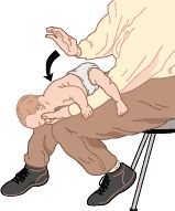 infant first aid for choking and CPR