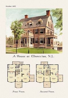House at Montclair, New Jersey