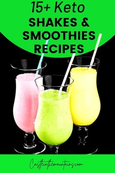 This is the big roundup of Keto Non-alcoholic Drink Recipes. Whether you like smoothies, shakes, lattes or whipped coffee, we have ideas. Drinks Alcohol Recipes, Non Alcoholic Drinks, Drink Recipes, Smoothie Recipes, Smoothies, Keto Shakes, Detox Juice Recipes, Gordon Ramsay, Jamie Oliver