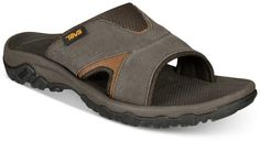 7c162a7b1 Teva Men s Katavi 2 Water-Resistant Slide Sandals - Blue 7