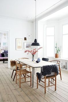 The 6 Colors You'll Find in Almost Every Stylish Scandinavian Home via @MyDomaine