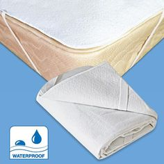 Full Waterproof Mattress Pad And Sheet Protector With Elastic Straps