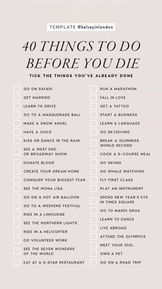 Das ist meine neue Bucket-Liste mit einigen Dingen in den - anima . - That's my new bucket list excluding some of the things in there – anima… Das ist meine neue Bucket-Liste mit einigen Dingen in den – Animation Vie Motivation, Things To Do When Bored, 30 Things To Do Before 30, Random Things To Do, 30 Before 30 List, Fun Things, Productive Things To Do, Things To Do Alone, Free Things To Do