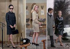 Catherine Deneuve in Belle de Jour in her Yves Saint Laurent fringues and Roger Viviered dainty feet...ohhh, I drool over!!!!
