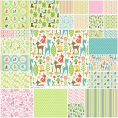 Woodland Tails by Sheri Berry Designs for Riley Blake
