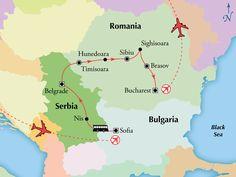 11 Day Bulgaria, Serbia & Romania,Tour Central Europe, Central Europe Travel package - www.gate1travel.com