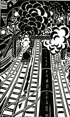 "From Frans Masereel's ""The City"""
