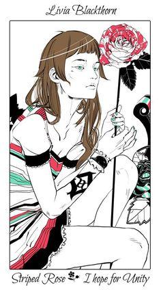 Shadowhunter Flowers By Cassandra Jean * Livia Blackthorn: Rosas abigarradas - Espero por la unidad.