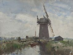 Edward Seago | Horsey Mill, Norfolk