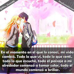 En el momento en el que lo conocí #Anime #Frases_anime #frases