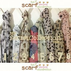 Scarf Moderno - My Secret Collection