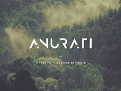 ANURATI: A free futuristic font http://ift.tt/1SlfoUN