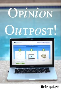 Earn Money at Home!  Taking surveys online with Opinion Outpost is such an easy way to earn extra money from home or as you travel!