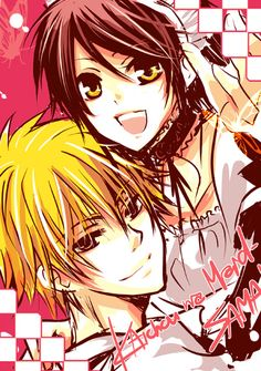 Kaichou wa Maid-sama II by ~kaokmchan  Maid-sama! I love this manga, not so much the anime but this pairing of Usui and Misaki is ADORABLE! ^-^