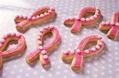 Pink Ribbon Cookies  Making Strides Against Breast Cancer of Atlanta GA www.makingstrideswalk.org/AtlantaGA