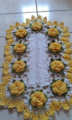 artesanato em croche de barbante - Pesquisa Google Crochet Dollies, Crochet Stars, Thread Crochet, Crochet Flowers, Crochet Stitches Patterns, Doily Patterns, Crochet Motif, Crochet Designs, Crochet Table Runner